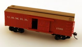 Civil War-Union - USMRR Box Car