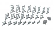 26 Piece Graduated Trestle Set