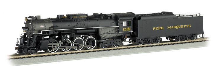 Pere Marquette #1218 (HO 2-8-4 Berkshire) - Click Image to Close