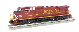 Lehigh Valley #8104 GE DASH 9 w/ True Blast® Plus