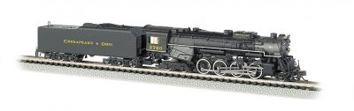 C&O® Kanawha #2760 - DCC Sound Value (N Berkshire 2-8-4)