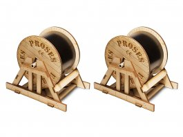 O Scale Cable Drums (2 per pack)
