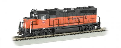 Milwaukee Road #2001 - GP40 - DCC