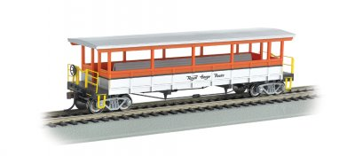 Royal Gorge - Open-Sided Excursion Car (HO Scale)