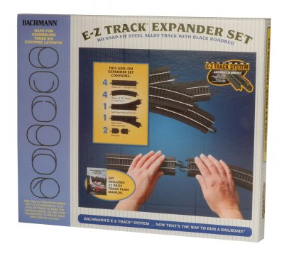 Nickel Silver Layout Expander Set (HO Scale)