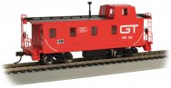 Streamlined Caboose with Offset Cupola - Grand Trunk #122
