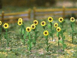 "Sunflowers - 1"" Tall (16 per pack)"