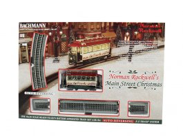 Norman Rockwell's Main Street Christmas (Battery Operated)
