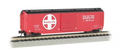 Santa Fe - 50' Sliding Door Box Car