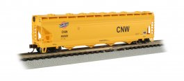 CNW™- ACF 56' 4-Bay Center Flow Hopper