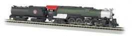 Great Northern # 2571 - 4-8-4 Northern & Vandy Tender (N Scale)