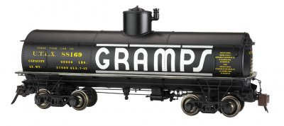 Gramps #88169 - Frameless Tank Car (Large Scale)