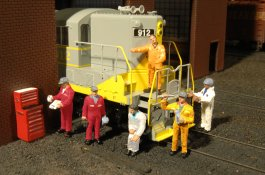 Mechanics - HO Scale