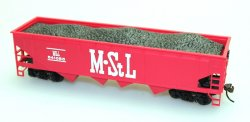 40' Quad Hopper - M. STL Coal (4 Car Set)