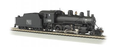 Boston & Maine #1360 - DCC Sound Value (HO ALCO 2-6-0)