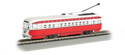 Allegheny Transit - PCC Streetcar DCC Sound Value (HO Scale)