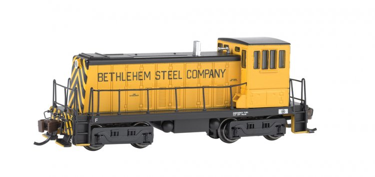 Bethlehem Steel (Yellow & Black) GE 70 Ton -DCC - Click Image to Close