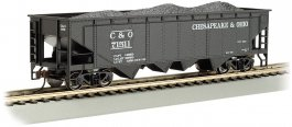 Chesapeake & Ohio® #71511 - 40' Quad Hopper