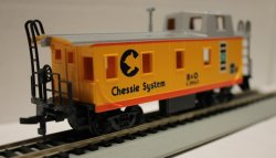 Chessie System - Off Center Caboose