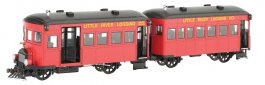 Little River Logging Co. Rail Bus & Trailer -DCC
