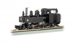 Painted, Unlettered - Black - Trench Engine DCC WOWSOUND®