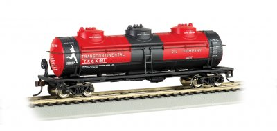 Transcontinental Oil Company - 40' Three-Dome Tank Car (HO Scale
