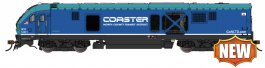 NCTD COASTER #5001 CHARGER SC-44 - DCC WOWSOUND®