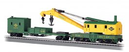 Reading - 250-Ton Steam Crane & Boom Tender (HO Scale)