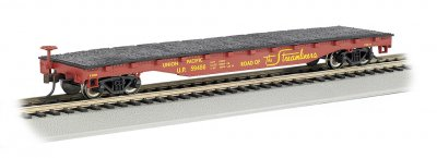 Union Pacific® #59486 - 52' Flat Car (HO Scale)