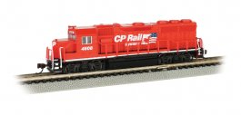 CP Rail #4608 - GP40 - DCC Econami™ Sound Value
