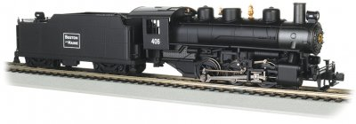 Boston & Maine #406 - USRA 0-6-0 with Short Haul Tender (HO)