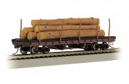 ACF 40' Log Car - 1906-1935 Version (HO Scale)