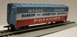 Bangor & Aroostock - 41' Old Time Wood Reefer