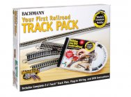 Nickel Silver First Railroad Track Pack (HO Scale)
