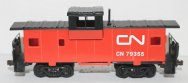 Wide Vision Caboose - Canadian National ( HO Scale )