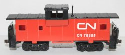 Wide Vision Caboose- Canadian National ( HO Scale )