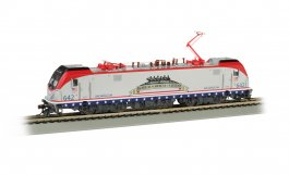Amtrak #642 Salutes our Veterans - Siemens ACS-64 - DCC Sound