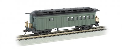 Combine (1860-80 era) - Painted Unlettered Green (HO Scale)