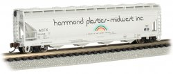 Hammond Plastics #58468 - ACF 56' 4-Bay Center Flow Hopper