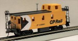 Off Center Caboose - CP Rail - Yellow