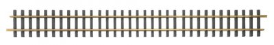 3' Straight 12/Box - Brass Track (Large Scale)