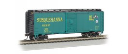 NYSW (Suzy-Q) 40' Box Car (HO Scale)