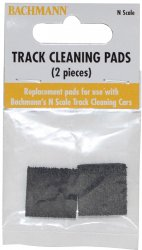 N Scale Track Cleaning Replacement Pads (2/package)
