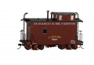 18 ft. Off-Set Cupola Caboose - Durango & Silverton