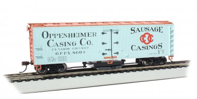 Oppenheimer Casing Co. - Track-Cleaning 40' Wood-Side Reefer