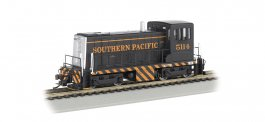 Southern Pacific™ #5114 (Black & Orange) - GE 70-Ton - DCC (HO)