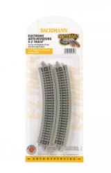 "Nickel Silver Auto-Reversing 11.25"" Radius Curved Track(N Scale)"