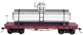 Unlettered - Silver - Tank Car