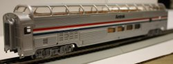 Amtrak - 85' Budd Full Dome (HO Scale)