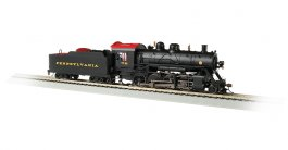 Pennsylvania #7748 Baldwin 2-8-0 Consolidation - DCC Sound Value